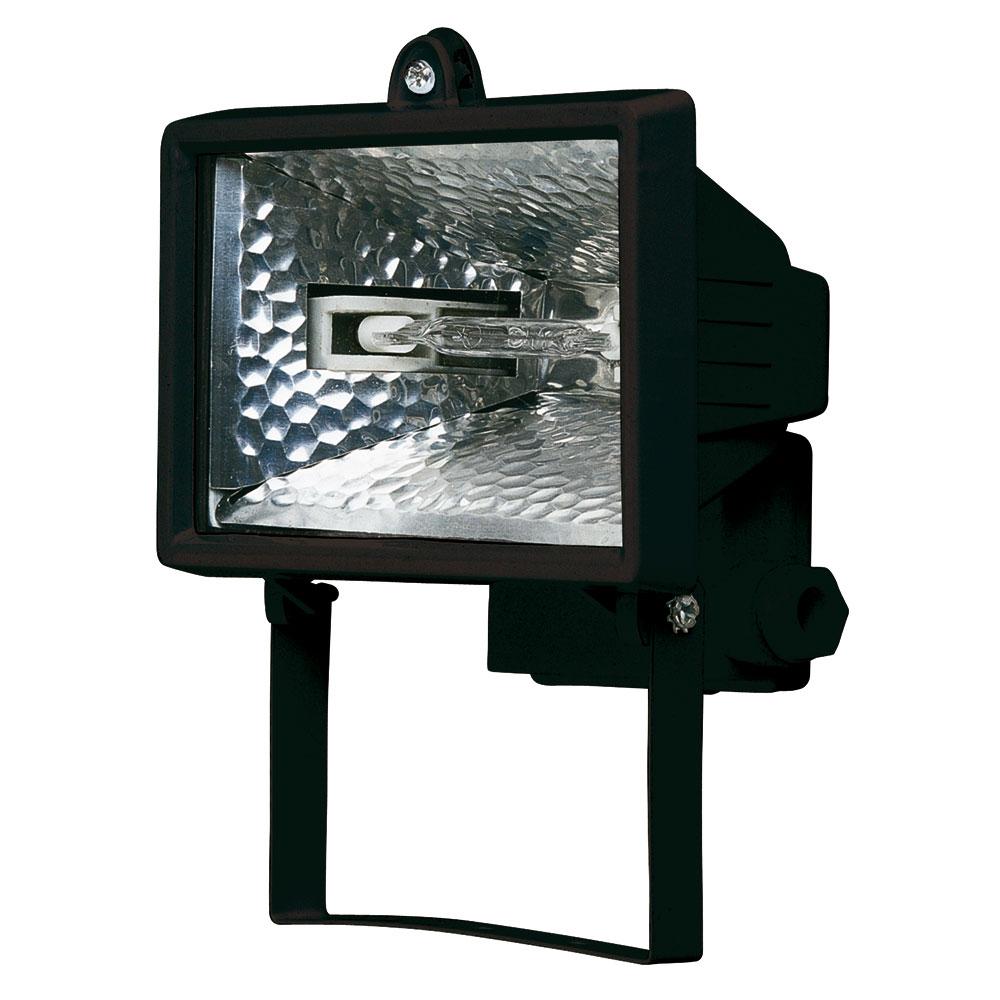 projecteur halog ne noir 150w ip44 top prix. Black Bedroom Furniture Sets. Home Design Ideas