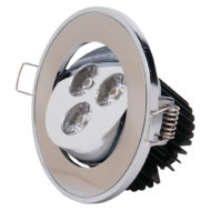 Spot LED downlight 3W rond