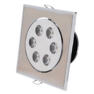 Spot LED downlight 6W carré