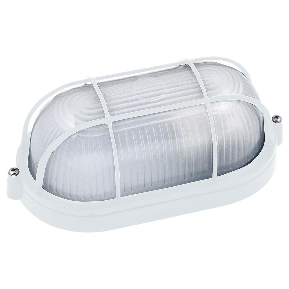Hublot ovale blanc 60w e27 top prix for Eclairage exterieur blanc
