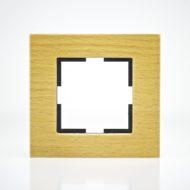 Plaque de finition simple Bois massif Noix