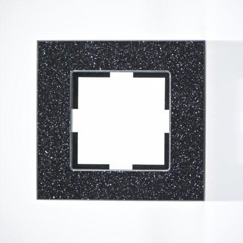 Plaque de finition simple Corian Quartz