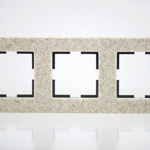 plaque de finition corian gr s 3 postes 84x230x10mm distock mat riel lectrique et solutions. Black Bedroom Furniture Sets. Home Design Ideas