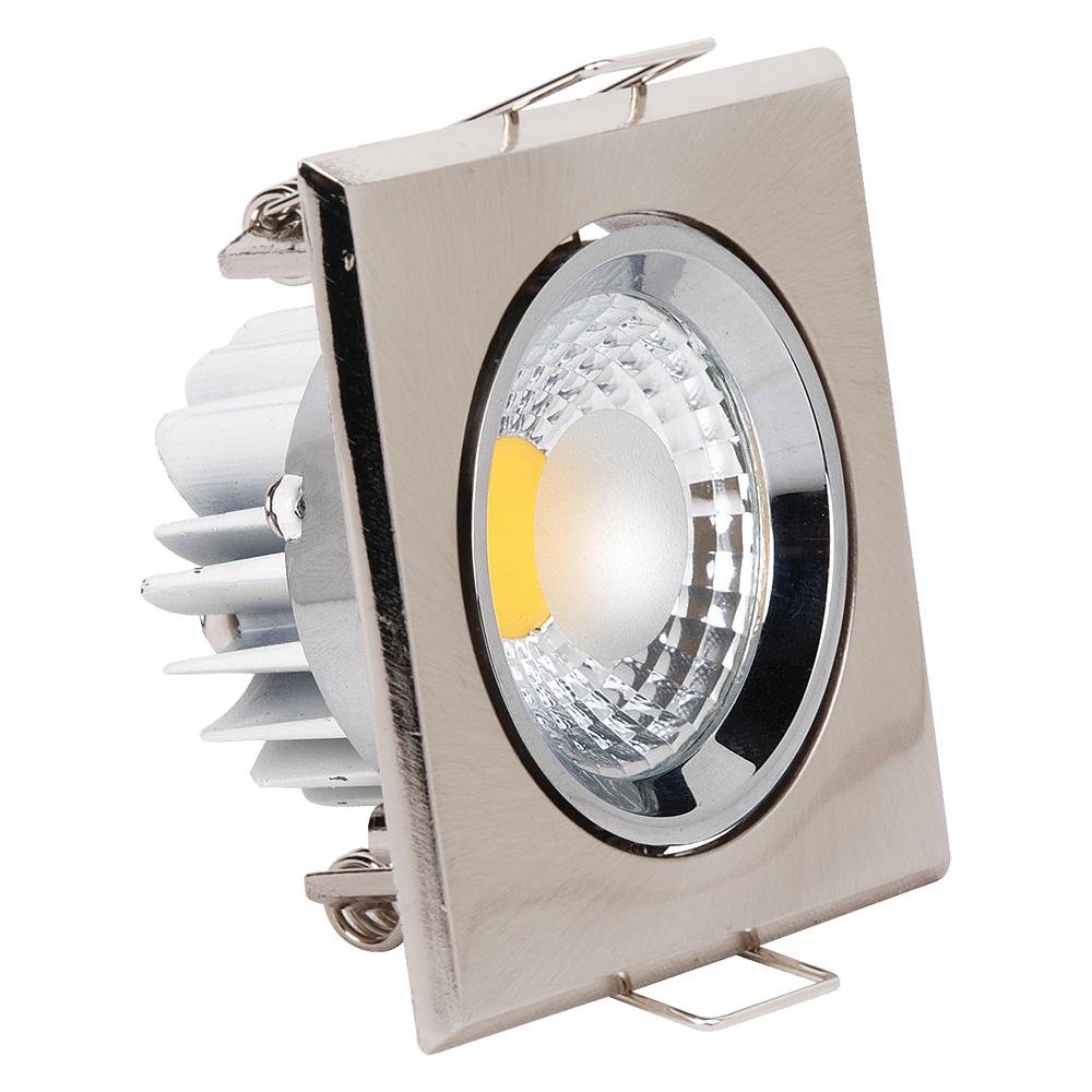 spot led downlight 3w carr mat chrome top. Black Bedroom Furniture Sets. Home Design Ideas