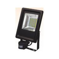 Projecteur LED extra plat 20W avec détecteur