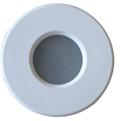 Support downlight étanche IP65 rond Blanc
