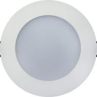 Spot LED Downlight 6W rond Blanc