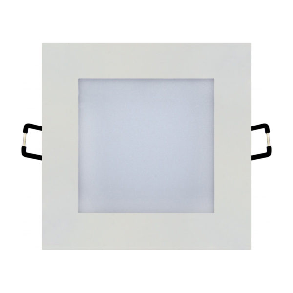 Spot LED Downlight 6W carré blanc