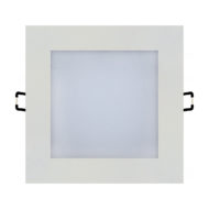 Spot LED Downlight 12W carré Blanc
