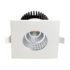 Spot LED Downlight 6W carré fixe étanche IP65