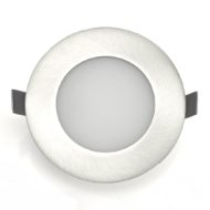Spot LED Downlight 6W rond Mat chrome