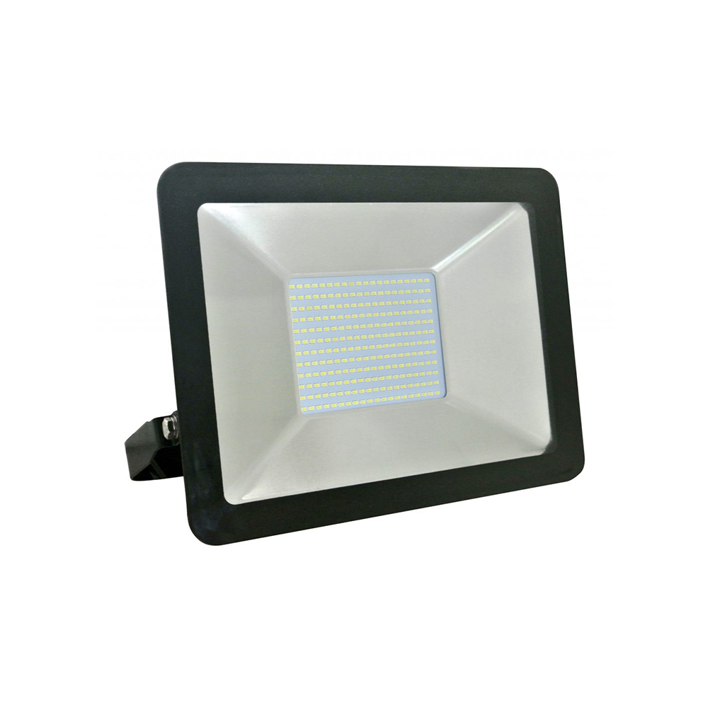 projecteur led extra plat 100w ip65 6400k puma 100 dim 308x395x70mm distock mat riel. Black Bedroom Furniture Sets. Home Design Ideas