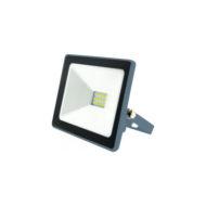 Projecteur LED extra plat 10W IP65 1000 Lumens 6000K INDUS Dim. 90x70x25mm