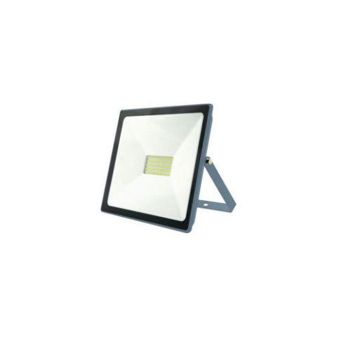 Projecteur LED extra plat 30W IP65 3000 Lumens 6000K INDUS Dim. 170x150x28mm