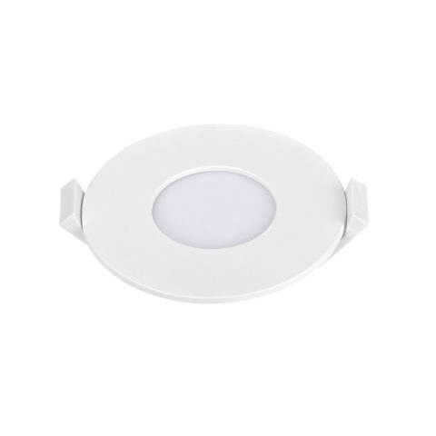 Dalle LED slim Panasonic ronde 3W 3000K Diam 85mm