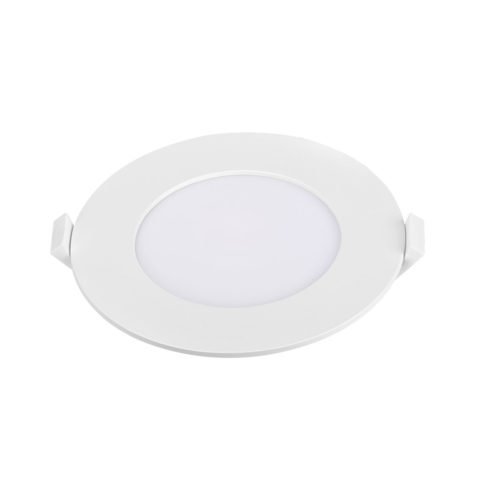 Dalle LED slim Panasonic ronde 6W 3000K Diam 120mm