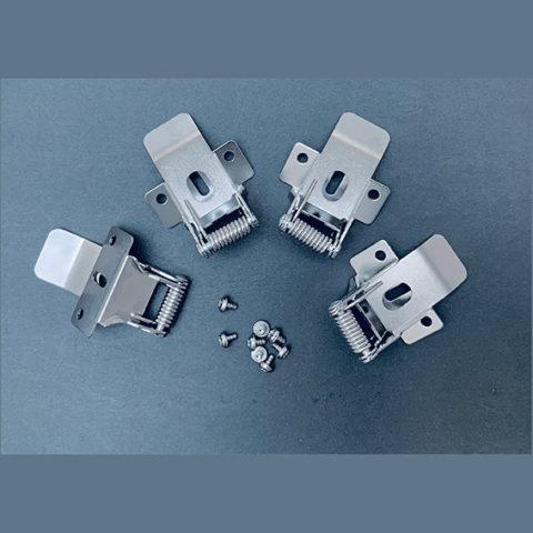 Kit 4x clips montage encastré pour panneaux LED Panasonic