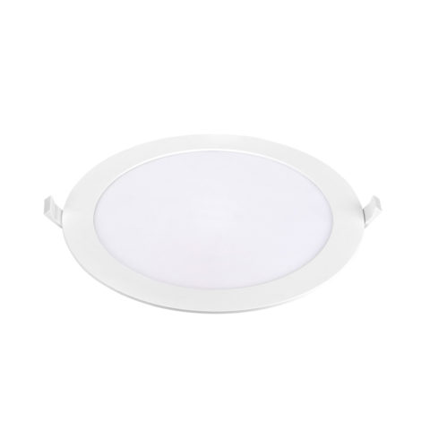 Dalle LED slim Panasonic ronde 18W 4000K Diam 225mm