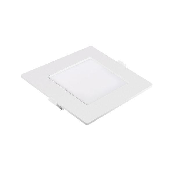 Dalle LED slim Panasonic carré 6W 6500K Dim 120x120mm