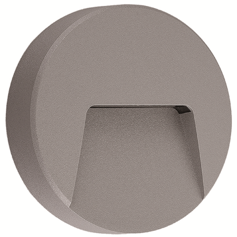 Applique murale ronde LED 3W IP65 Diam. 135mm