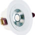 Spot COB LED downlight rond blanc dimmable 7W (Eq. 56W) Diam 98mm 4000K 36°