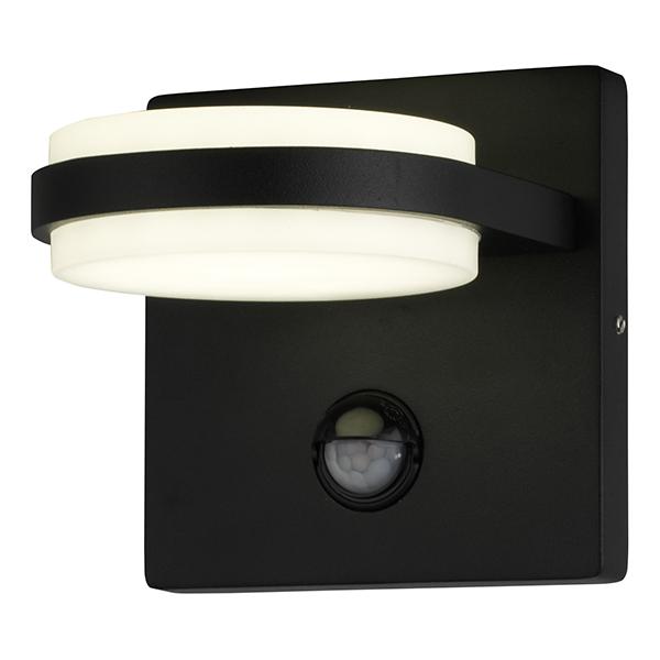 Applique LED BERGEN-2DS 12W IP44 4000K 840Lm avec détecteur Dim. 120x120x140mm